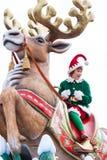 Parada do Natal de Disney Fotografia de Stock
