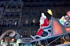 Parada do Natal de RTL em Bruxelas Imagem de Stock Royalty Free