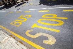 Parada do ônibus Imagem de Stock