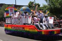 Parada do orgulho Imagem de Stock Royalty Free