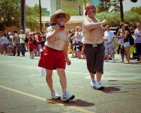 Parada do orgulho de Phoenix, 2010 fotos de stock