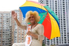 Parada do orgulho de Toronto Imagem de Stock