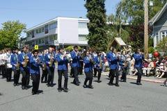 Parada do partido de chá do louro do carvalho junho em 4, 2011 Imagem de Stock Royalty Free