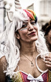 Parada do traje de Purim Imagem de Stock Royalty Free