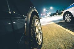 Parada do tráfego da luz vermelha Fotografia de Stock Royalty Free