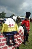 Parada do vestido de fantasia de Humpty Dumpty imagens de stock