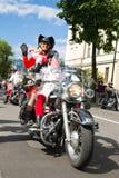Parada dos motociclistas Fotos de Stock