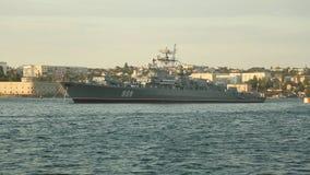 Parada dos navios de guerra Rússia vídeos de arquivo