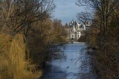 Parada dos protetores do parque e de cavalo de St James - Londres - Inglaterra Fotografia de Stock