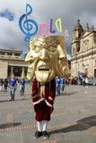 Parada em Bogotá, Colômbia Imagem de Stock Royalty Free