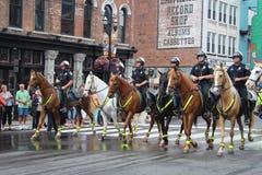 Parada em Broadway em Nashville, Tennessee Imagem de Stock Royalty Free