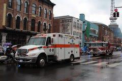 Parada em Broadway em Nashville, Tennessee Fotografia de Stock