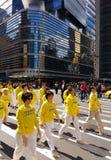 Parada em New York City, NYC, NY, EUA Imagens de Stock Royalty Free