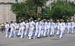 Parada em Washington, C.C. do Memorial Day. Imagem de Stock Royalty Free