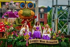 Parada floral grande 2017 de Portland Imagens de Stock