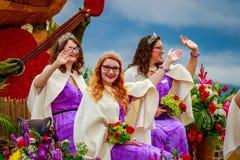 Parada floral grande 2017 de Portland Fotos de Stock