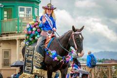 Parada floral grande 2017 de Portland fotografia de stock royalty free