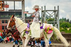 Parada floral grande 2019 de Portland fotos de stock