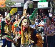 Parada grande de San Francisco Carnival 2014 no distrito da missão imagens de stock royalty free
