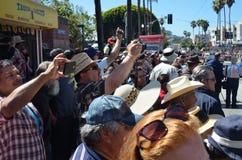 Parada grande de San Francisco Carnival 2014 no distrito da missão fotos de stock