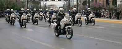 Parada grega do Dia da Independência foto de stock royalty free