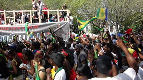 A parada indiana ocidental 6 do dia 2014 Foto de Stock Royalty Free