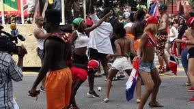 A parada indiana ocidental 7 do dia 2014 Fotos de Stock Royalty Free