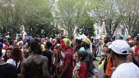 A parada indiana ocidental 28 do dia 2014 Fotografia de Stock