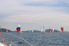 Parada jachty Obraz Stock