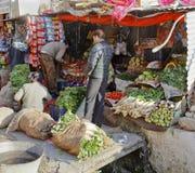 Parada Jammu Cachemira de las verduras frescas Foto de archivo libre de regalías