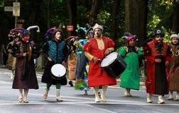 Parada latino-americano do dia em New York Fotos de Stock Royalty Free