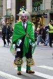Parada latino-americano do dia em New York Foto de Stock