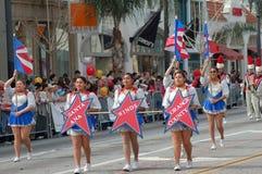 Parada lunar chinesa do ano novo de PASADENA Fotografia de Stock Royalty Free