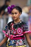 Parada mexicana da independência imagens de stock