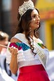 Parada mexicana 2018 do Dia da Independência de Pilsen foto de stock