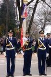 Parada militar Fotos de Stock Royalty Free