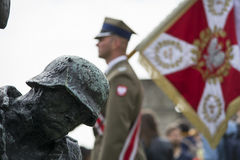 Parada militar Fotografia de Stock