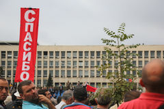 Parada militar em BELGRADO Foto de Stock
