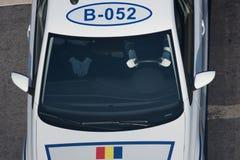 Parada militar que comemora o dia nacional de Romênia imagem de stock royalty free