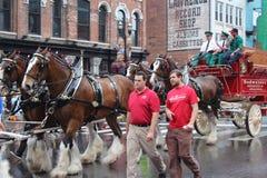 Parada na Broadway w Nashville, Tennessee Obraz Royalty Free