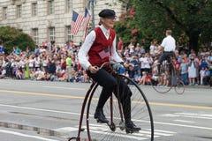 Parada nacional do Dia da Independência Imagem de Stock Royalty Free