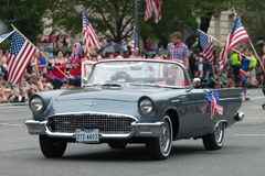 Parada nacional do Dia da Independência Fotografia de Stock