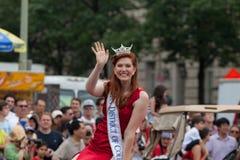 Parada nacional do Dia da Independência Fotografia de Stock Royalty Free