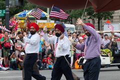 Parada nacional do Dia da Independência Imagens de Stock