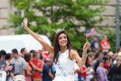 Parada nacional do Dia da Independência Foto de Stock