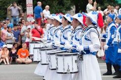 Parada nacional do Dia da Independência Foto de Stock Royalty Free