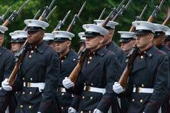 Parada nacional do Dia da Independência Imagem de Stock