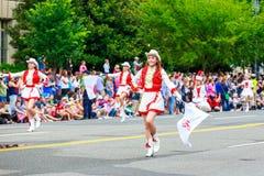 Parada nacional 2015 do Dia da Independência Fotografia de Stock Royalty Free