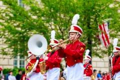 Parada nacional 2015 do Dia da Independência Foto de Stock Royalty Free