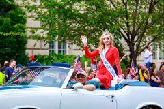 Parada nacional 2015 do Dia da Independência Imagem de Stock Royalty Free